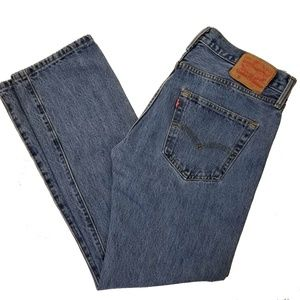 Levis 501 Button Fly Classic Jeans  Size 32 x 30